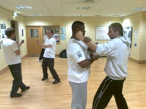 Wing Chun training at Bradford